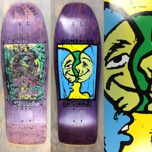 Vision Mark Gonzales Split Face Restoration