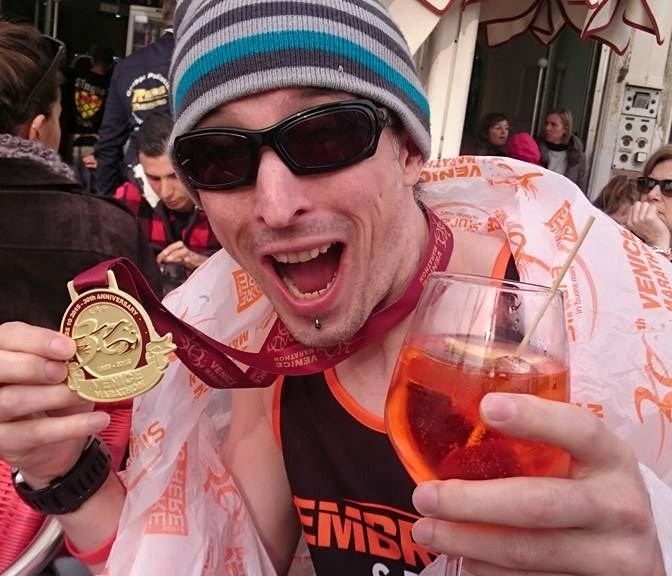 Me and my medal at Venice
