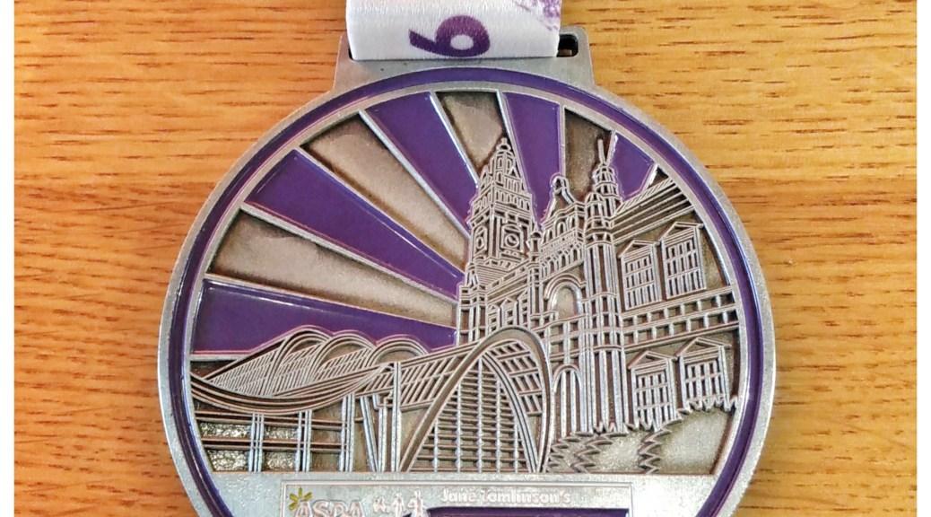 Sheffield 10k 2016 Medal