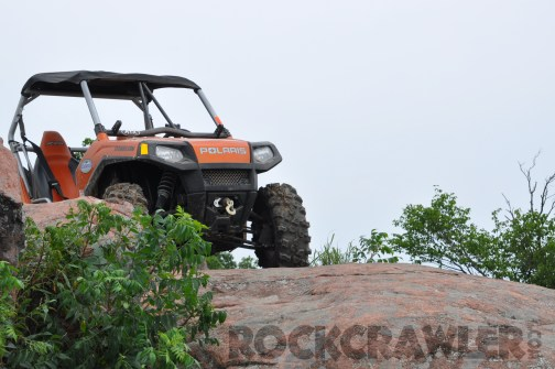 Pitbull Rocker UBER XOR Tires on the RockCrawler RZR