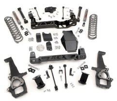 "2010 08 DodgeRoughCountry 300x259 Rough Country Suspension Announces Dodge 1500 4"" and 6"" Lifts"