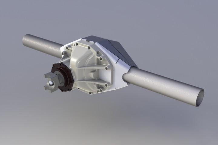 Super 14 built Super 14 Press Release / Torq Axle
