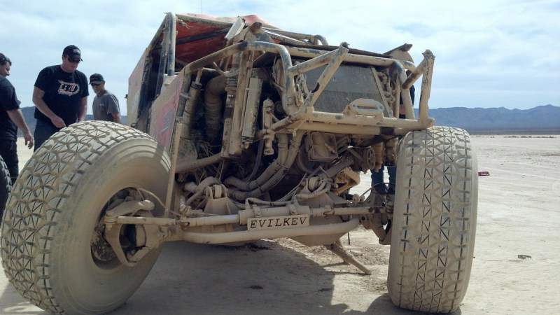 Big Ugly Front View for Web 800x450 Big Ugly Crashes at 96MPH in The Mint 400