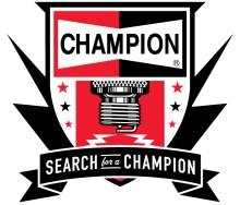 Champion Search for a Champion logo 220x188 RACER NEEDS YOUR HELP TO WIN $50,000 IN NATIONAL 'SEARCH FOR A CHAMPION' CONTEST