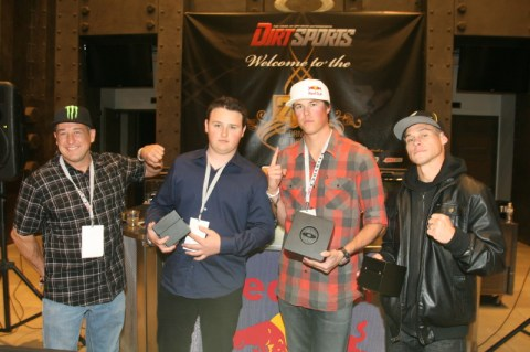 "Dirt Sports DOY Image 2 480x319 Bryce Menzies Celebrated at Dirt Sports Magazine's ""Driver of the Year"" Honors"