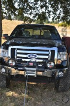 Warn Zeon12 winch on a Ford F150