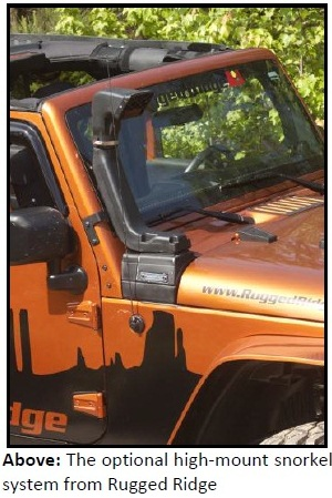 image002 Rugged Ridge Expands Line of XHD Snorkel Systems For 12 13 JK Jeep