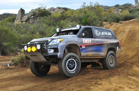 "2012 Baja 1000 Joe 2 480x314 Joe Bacal and Lexus Capture Second Consecutive SCORE Baja 1000 ""Peninsula Run"" Victory"