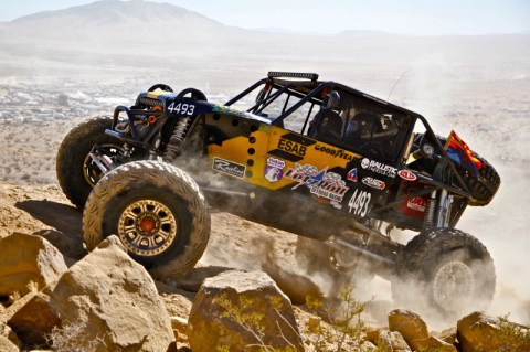 Andrew McLaughlin KOH 4493 480x319 LetzRoll Offroad Racing Ultra4 Finishes 2013 King of the Hammers and Three Every Man Challenge Cars Fight to the End