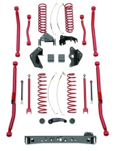 JK LongArm RS66105 CMYK 167x220 RANCHO LONG ARM SUSPENSION NOW AVAILABLE FOR 2007 2013 JEEP WRANGLER JK'S