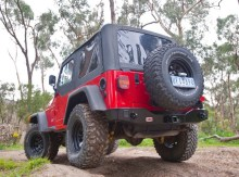 233 220x163 ARB Rear Bar and Tire Carrier  For Jeep TJ / YJ