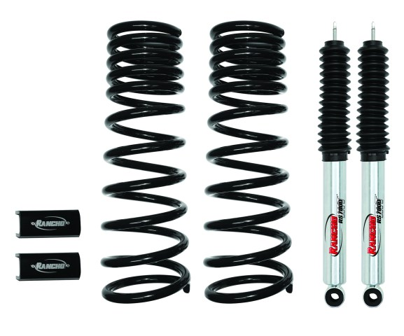 Ram LevelIt RS66450R7 CMYK 577x480 Rancho® Introduces Level It Suspension Kit for Dodge Ram 2500/3500 Trucks