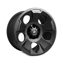 Rugged Ridge Drakon Wheels Satin Black 220x220 RUGGED RIDGE ANNOUNCES NEW DRAKON ALLOY WHEELS FOR '07 '13 JEEP® JK WRANGLER