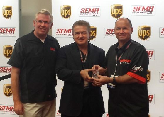 EnerSys - Odyssey Global Media Award - SEMA 2013