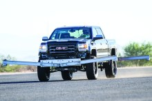 Rancho GMC Sierra 220x146 Rancho® Suspension Systems Pass Federal Rollover Safety Test