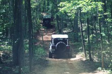 Rugged Ridge Jeeps on Off Road Trail 220x146 RUGGED RIDGE Trail Access Program Launches at 2013 SEMA Show