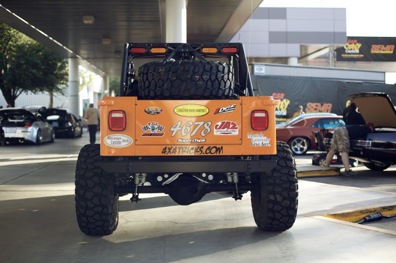 jeep 5 800x533 SEMA 2013: Built up Jeep Wrangler TJ Rock Crawler
