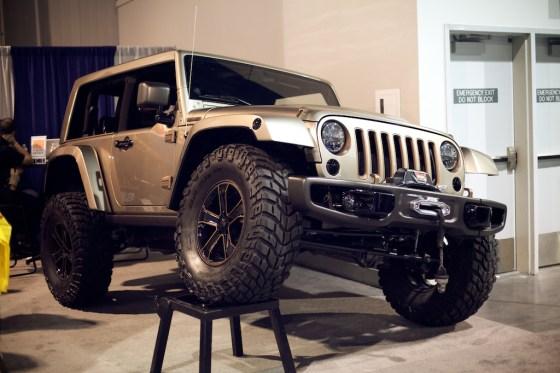 jeep wrangler flattop concept sema