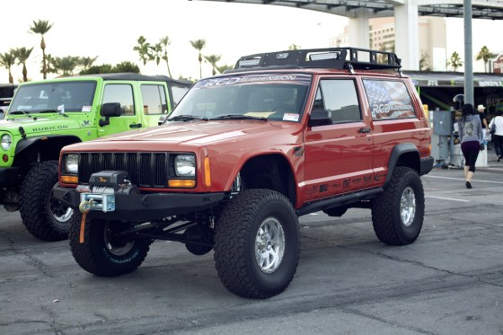jeep cherokee sema