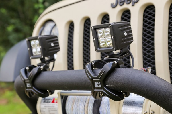 Rugged Ridge X Clamps Installed 600x400 RUGGED RIDGE INTRODUCES NEW X CLAMP MOUNTING SYSTEM