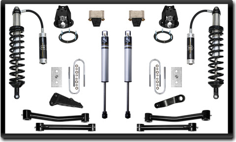 ICON Ram Coilover Kit ICON RAM 2500/3500 Coilover Conversion Systems