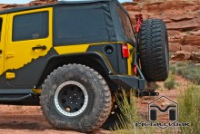 MetalcloakExoCornerExoSkinOnYellowFeverJK 220x148 Metalcloaks Rear ExoSkin, Overland Edition   Adding Style, Strength & Safety to Your Jeep Wrangler JK