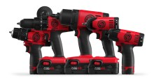 CPT3210 CP Cordless Range 220x115 Chicago Pneumatic premiers its cordless tool range at SEMA