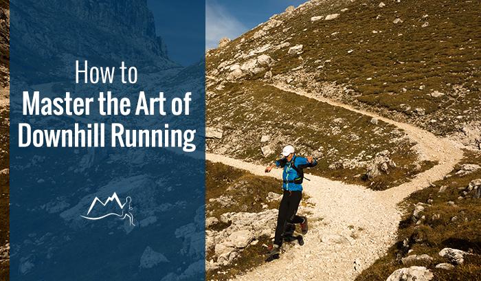 Trail running in Dolomites