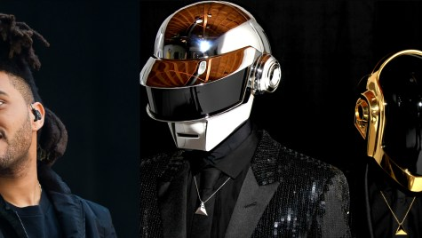 dAFT pUNK Y tHE wEEKND
