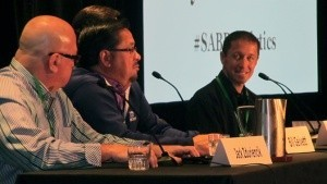 2014 SABR Analytics Conference - Decision Making in the Front Office Panel - Photo Courtesy of Society of American Baseball Research (SABR)
