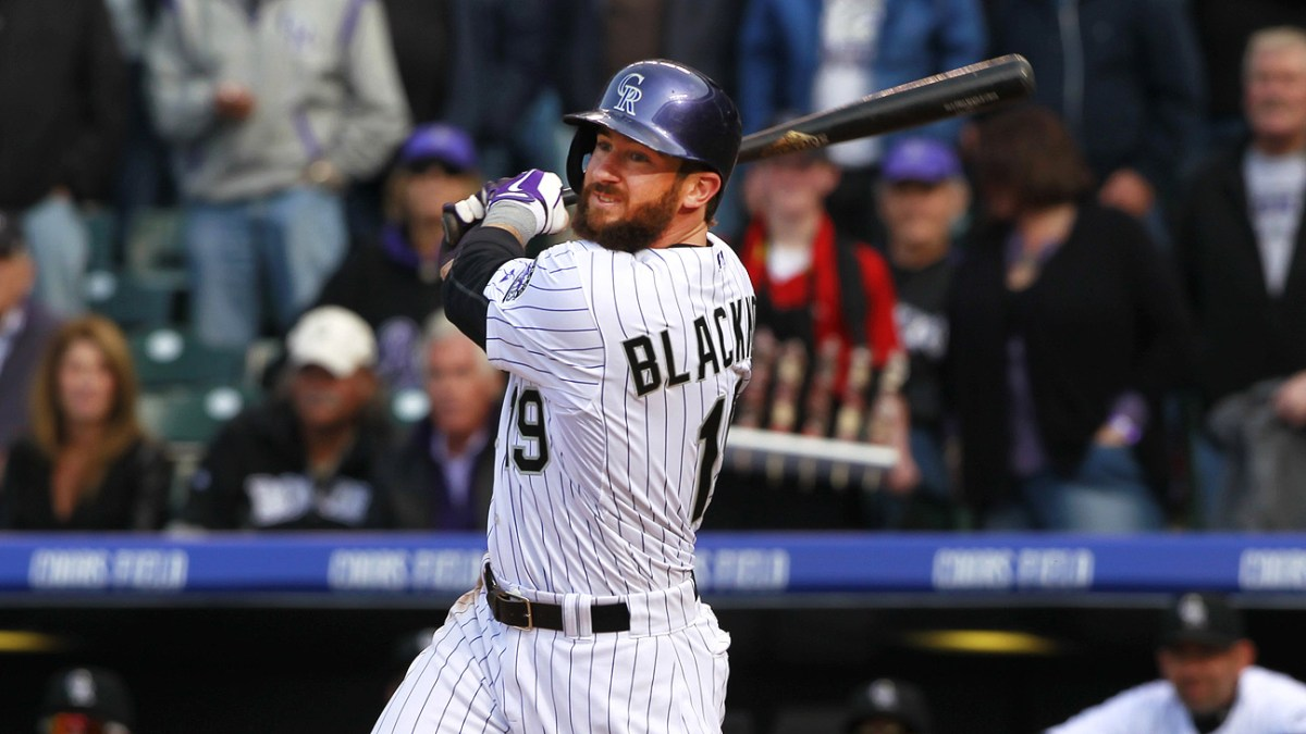 The Beard and the Bat: on Charlie Blackmon's April