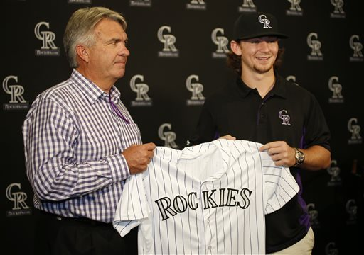 Rockies' Strong 2015 Draft Sets Organizational Tone