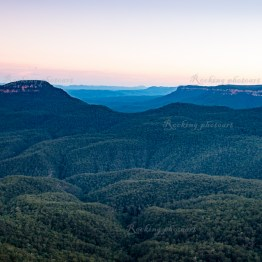 Sunset in Blue Mountains