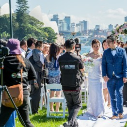 Wedding in Royal Botanic Garden, Sydney