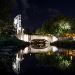 Night photo in Christchurch