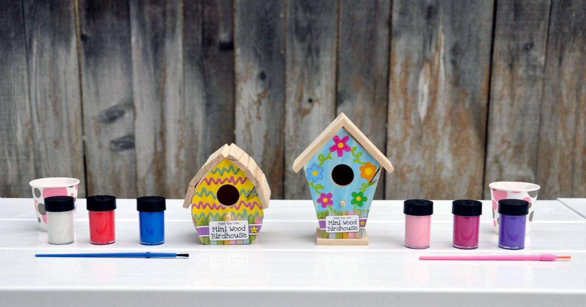 Crafting With Kids: This DIY Is For the Birds!
