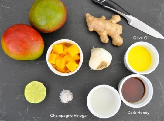 Mango Marinade Ingredients