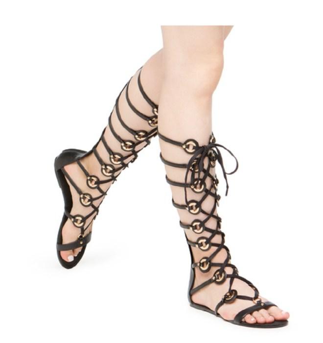 black glad, top picks, summer fashion, shoe dazzle, jumpsuit, maxi dress, gladiators, sandals, gladiator shoes, bold print, cold shoulder top, off shoulder top, cold shoulder dress