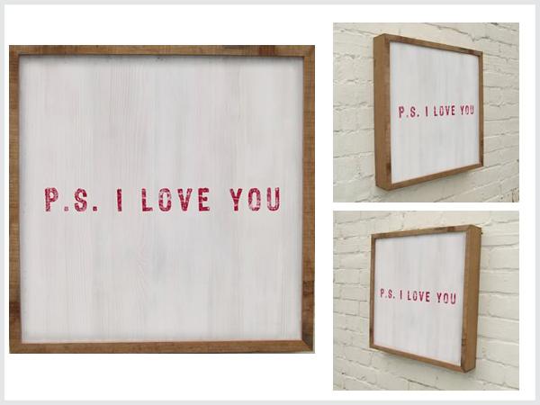 Love 3 P.S I Love You