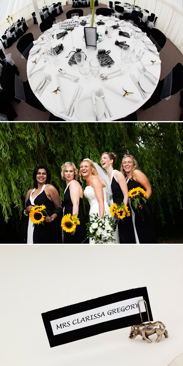 Craig Williams 17 A Wedding With Sunflowers And Zebras......
