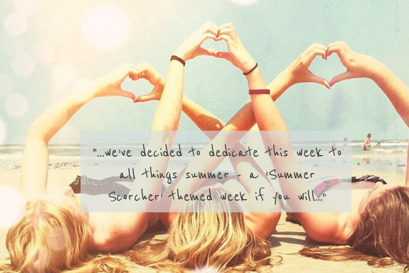 Cover Image quote4 Take One Summer Scorcher.