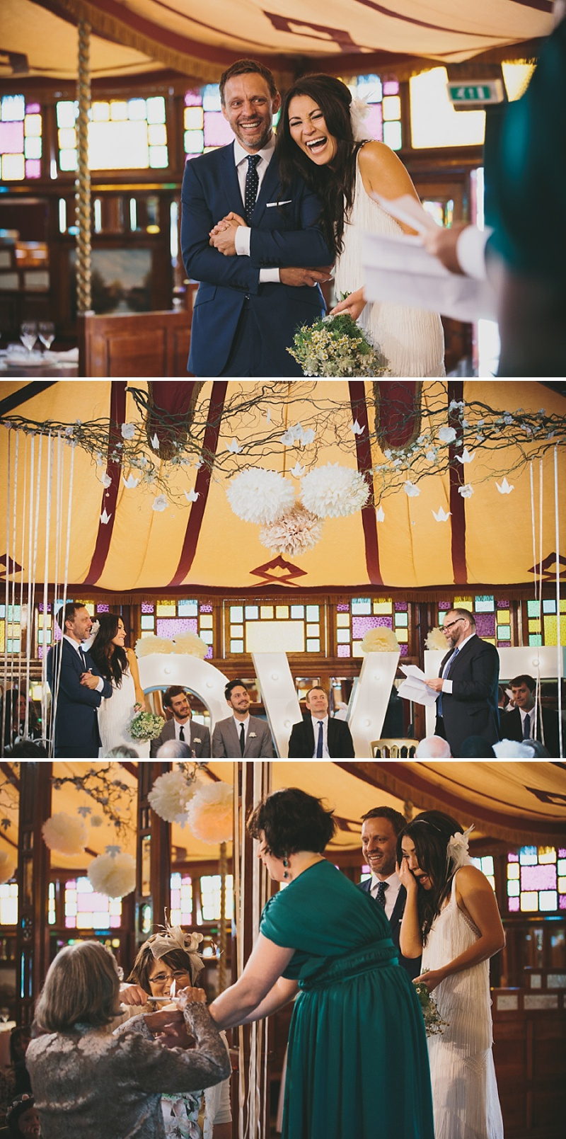 A Great Gatsby Woodstock themed wedding at Stanford Hall with a bridal gown from Blackburn Bridal Couture 0037 Woodstock Meets The Great Gatsby.