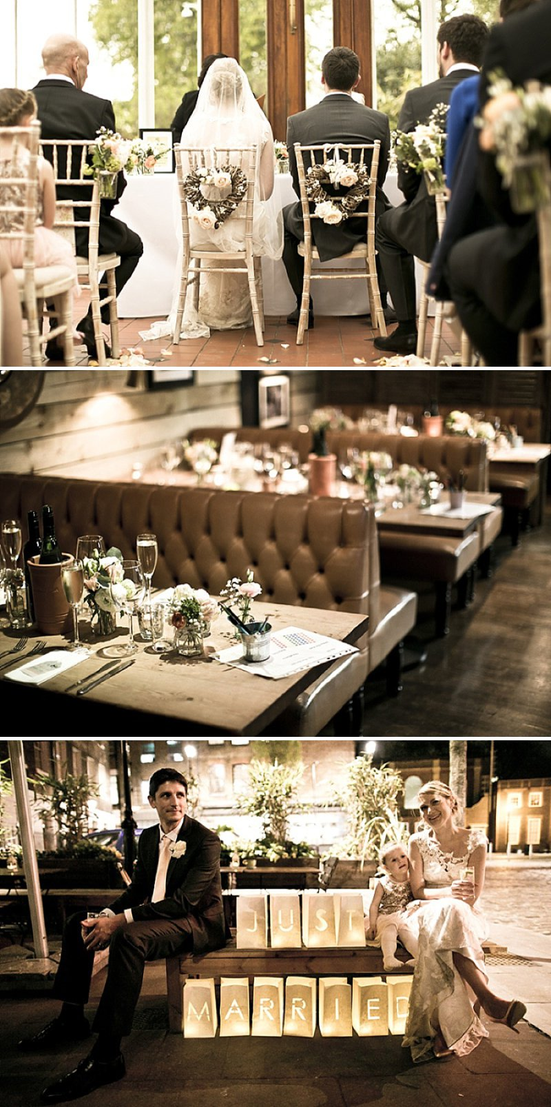 Laid Back London Wedding At The Horniman Museum With A Peach And Rose Gold Colour Scheme With Bride In Adagio By Claire Pettibone With Bridesmaids In Nude Dresses From Miss Selfridge 1 Peach And Rose Gold For A Laid Back London Wedding.
