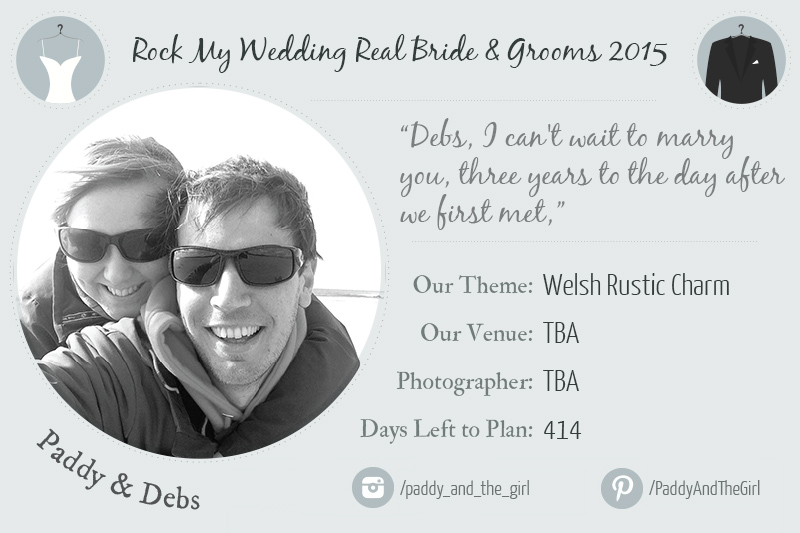 paddy new real bride header Paddy & Debs: The All Important Basics.