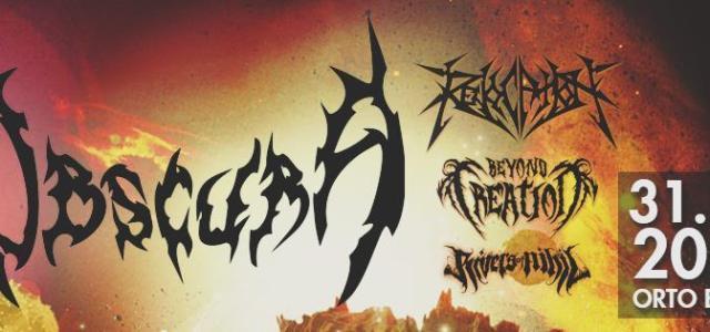 V Ljubljano 31. oktobra prihajajo nemški tehnični death metalci Obscura, ki so se letos vrnili s ploščo Akroasis