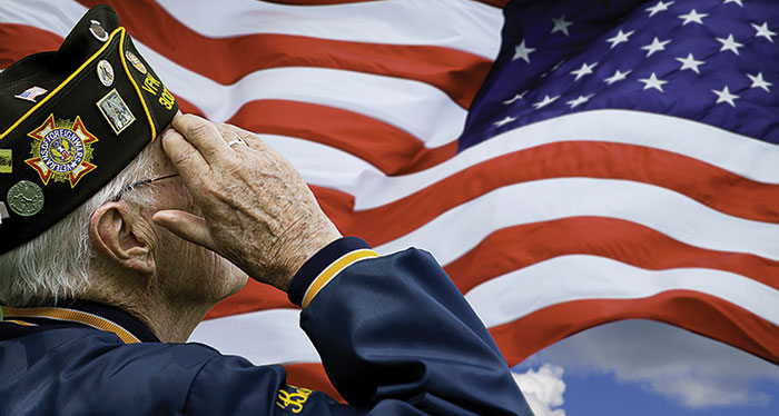 Veteran-Saluting-Flag