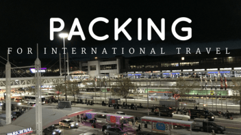 What you need to know when packing for international travel