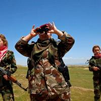 شیر زنان كوردستان و عملیات ازاد سازی شهر موصل توسط پیشمرگان كوردستان