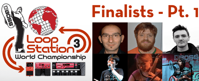 Loop Station 2013 finalists prt. 1