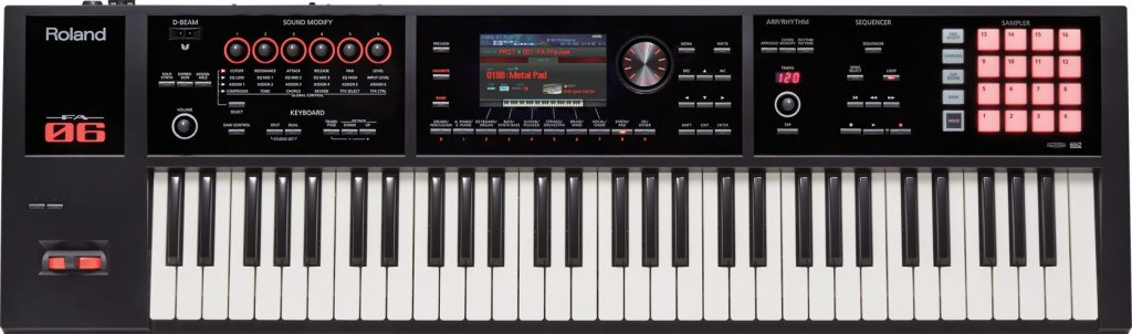 fa-06 music workstation